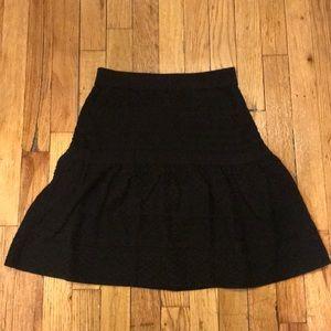 BCBG Black light weight skirt